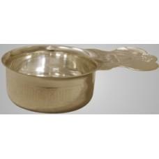 Ковш для теплоты латунь серебрение (3220041)