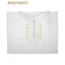 Рубашка (подростковая) для Крещения и купания в Святых источниках. Размер 42